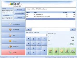 Quản lý bán lẻ Microsoft Dynamics AX
