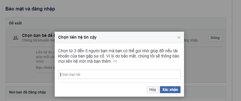 cách cài bảo mật cho facebook
