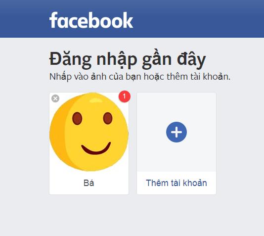 bảo mật tài khoản facebook bằng ảnh đại diện