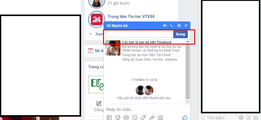 cách tạo nhóm chat facebook trên máy tính