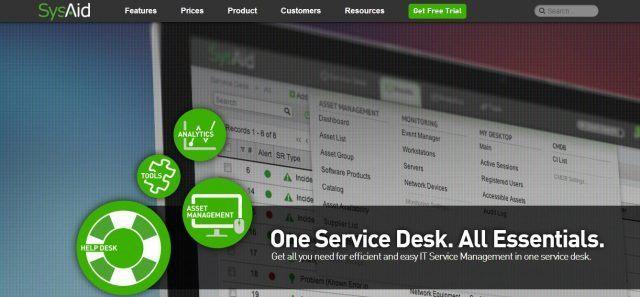 Phần mềm quản lý thiết bị SysAid