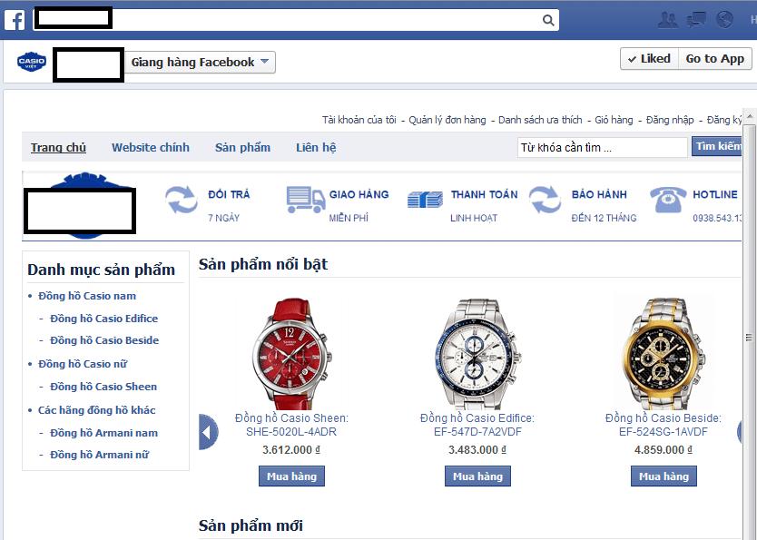 quản lý nhiều sản phẩm trên trang bán hàng facebook