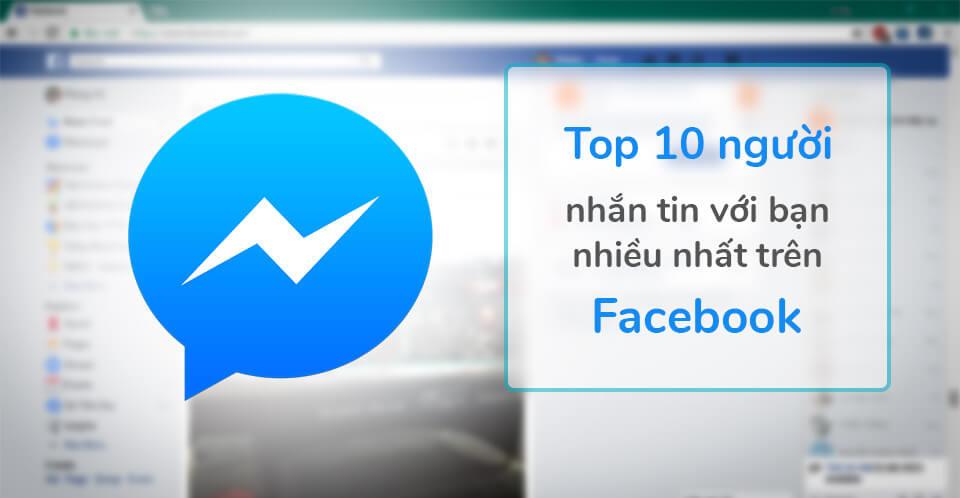 Thống kê tin nhắn facebook