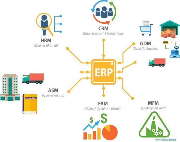 Ứng dụng phần mềm SAP ERP