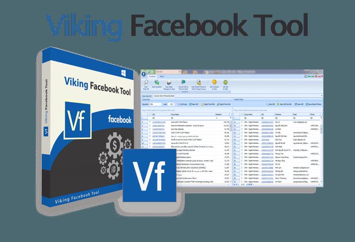 Viking facebook tool, phần mềm quản lý group facebook