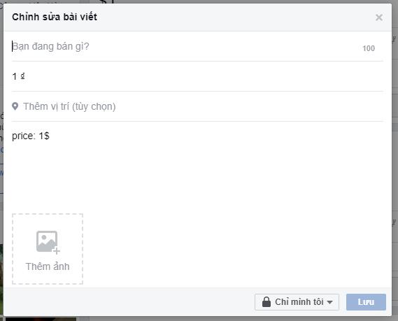 Bật tính năng bán hàng trên facebook cá nhân