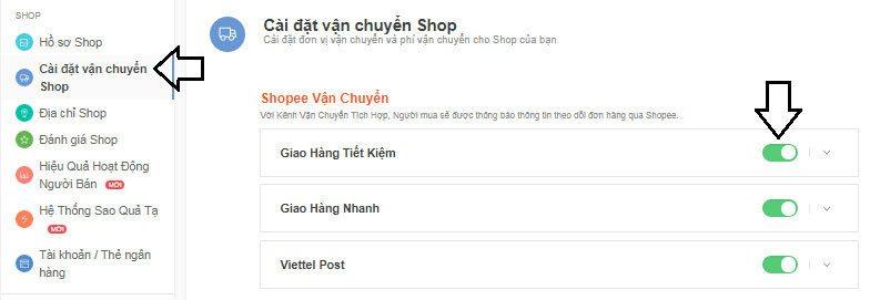 Cách bán hàng trên shopee
