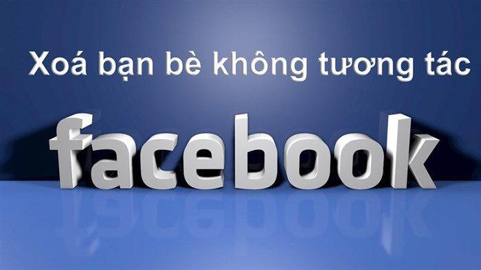 Lọc bạn bè không tương tác facebook
